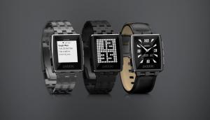 Pebble Steel Smartwatch Quelle: getpebble.com
