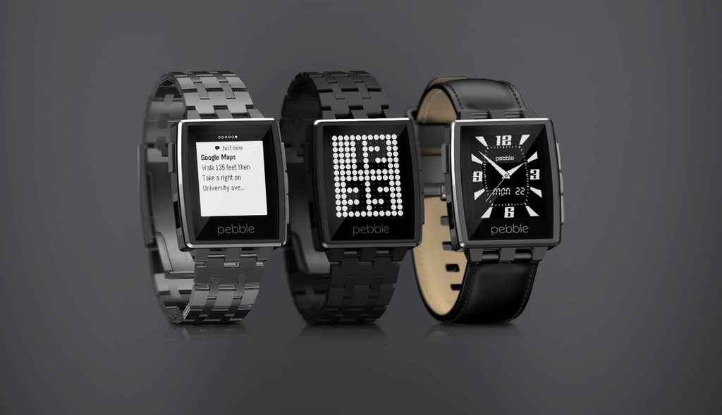 Pebble Steel Smartwatch Quelle: getpebble.com