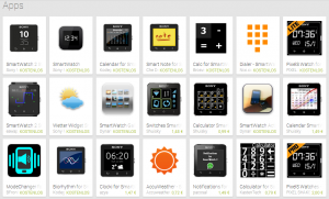 Sony Smartwatch 2 Apps
