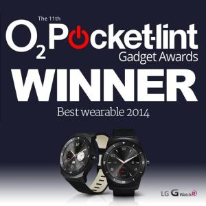 Best Wearable 2014 Gewinner LG G Watch R