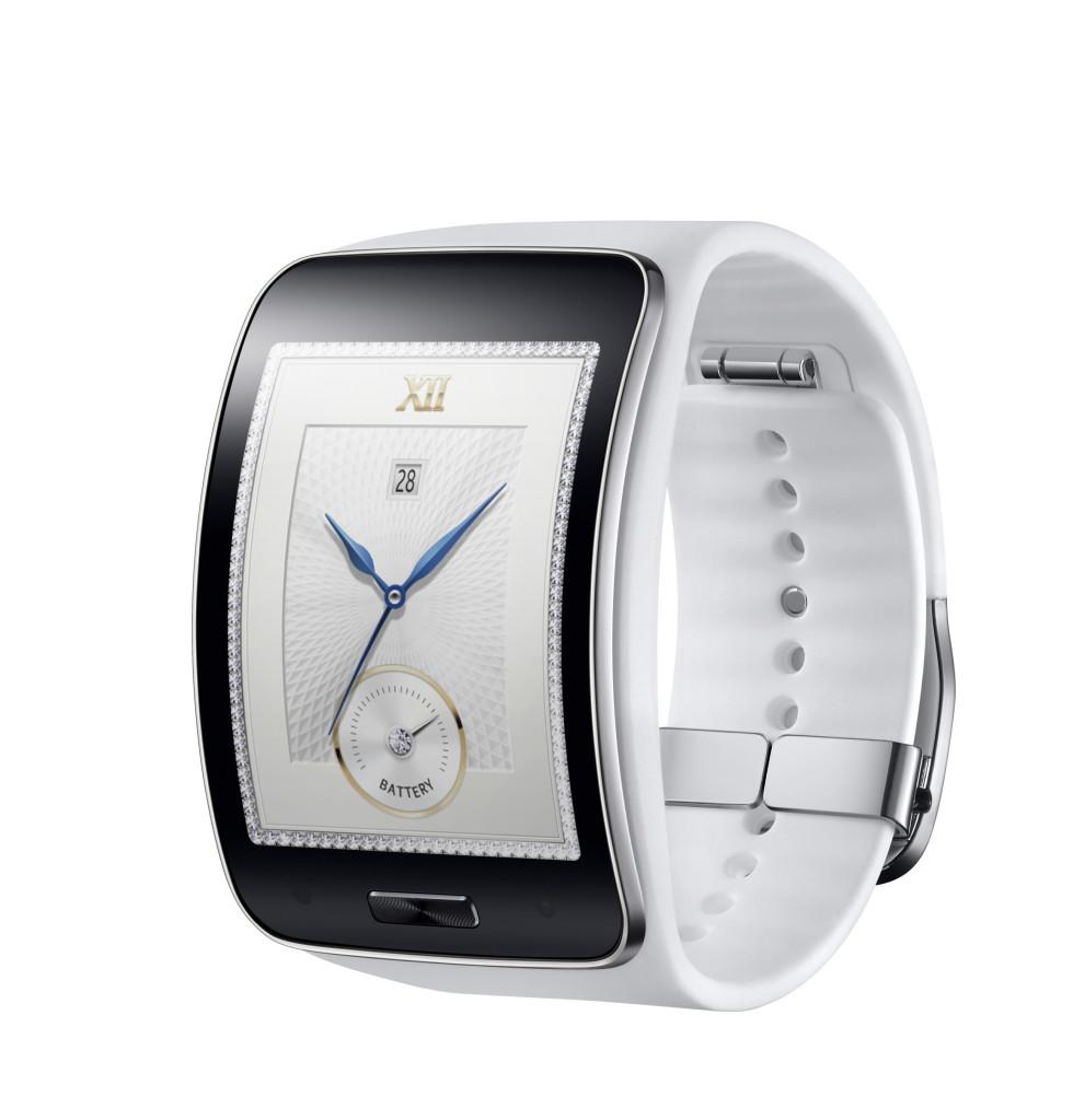 Samsung Gear S in Weiß