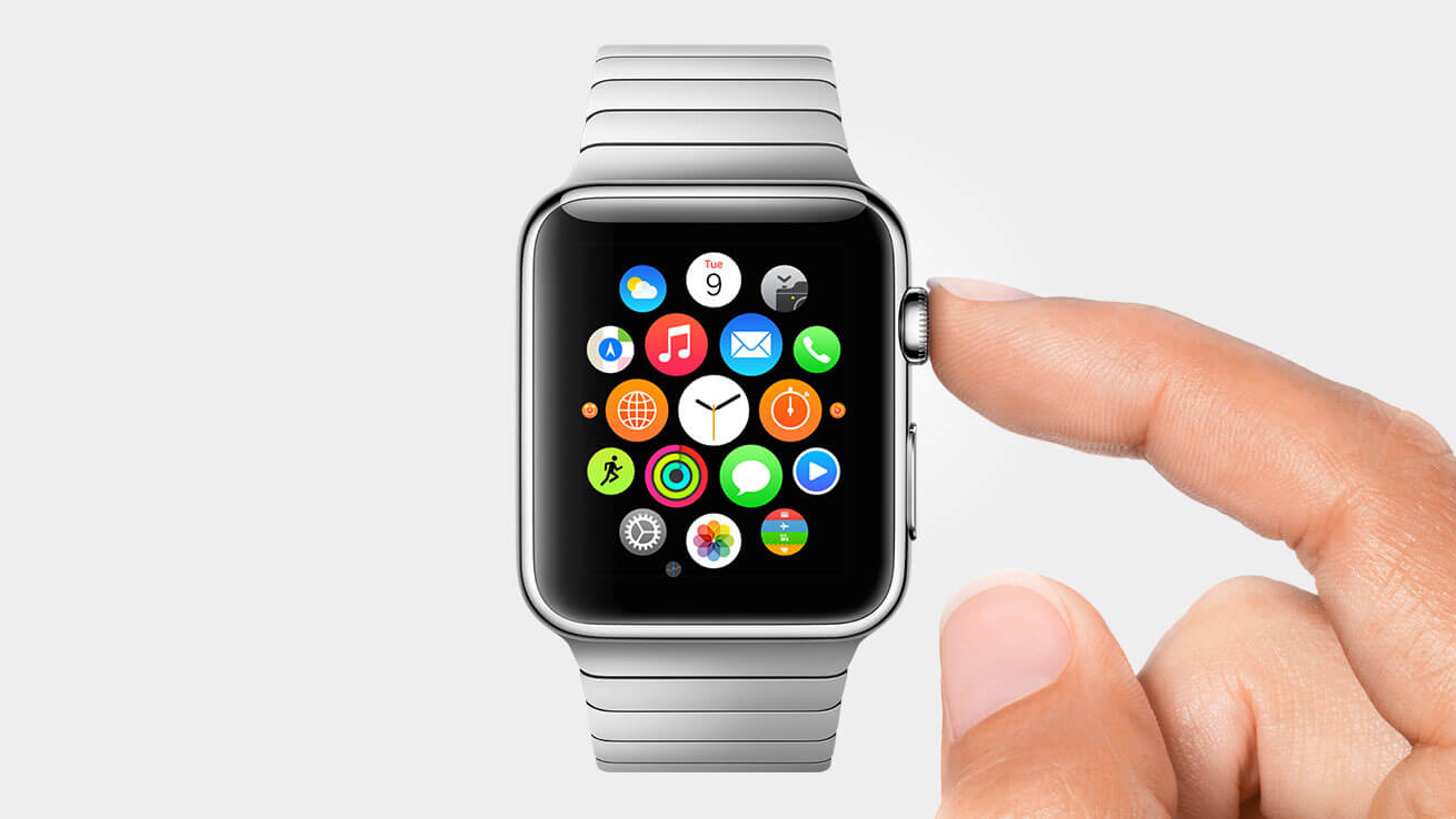 Apple Watch mit Digital Crown