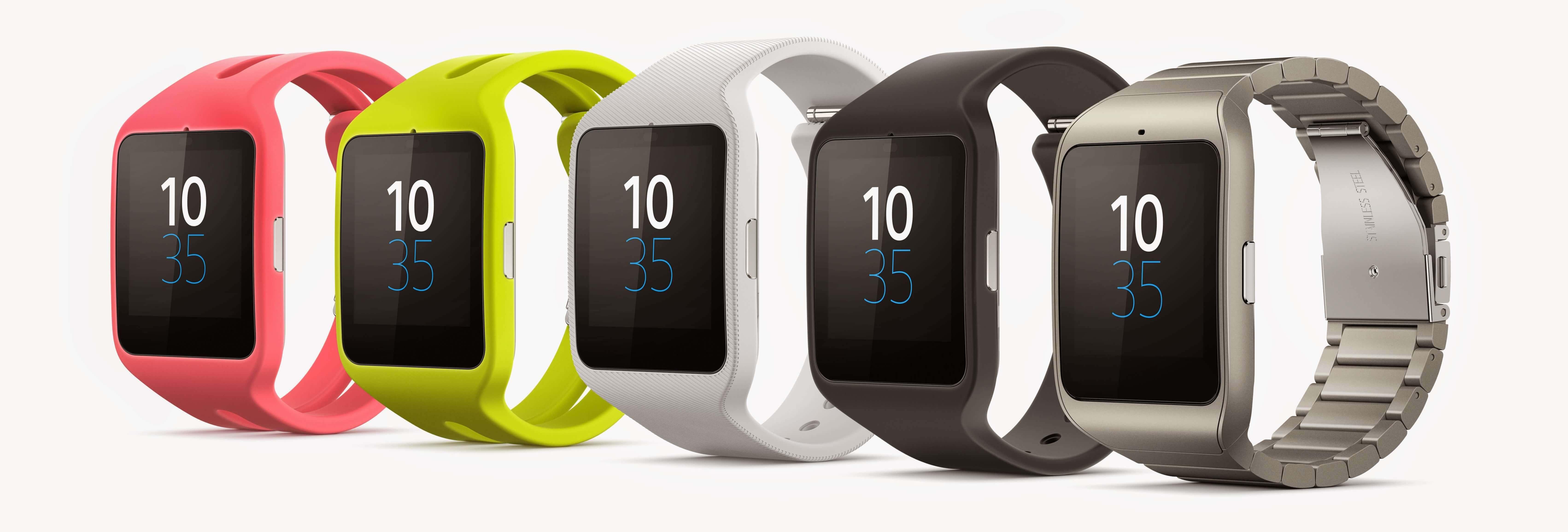 Sony Smartwatch 3 Modellübersicht