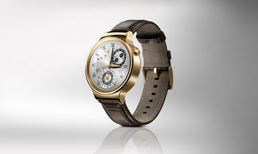 Huawei Watch in Gold