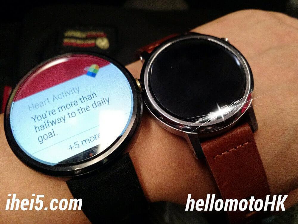 Motorola Moto 360S im Vergleich zur 1. Generation