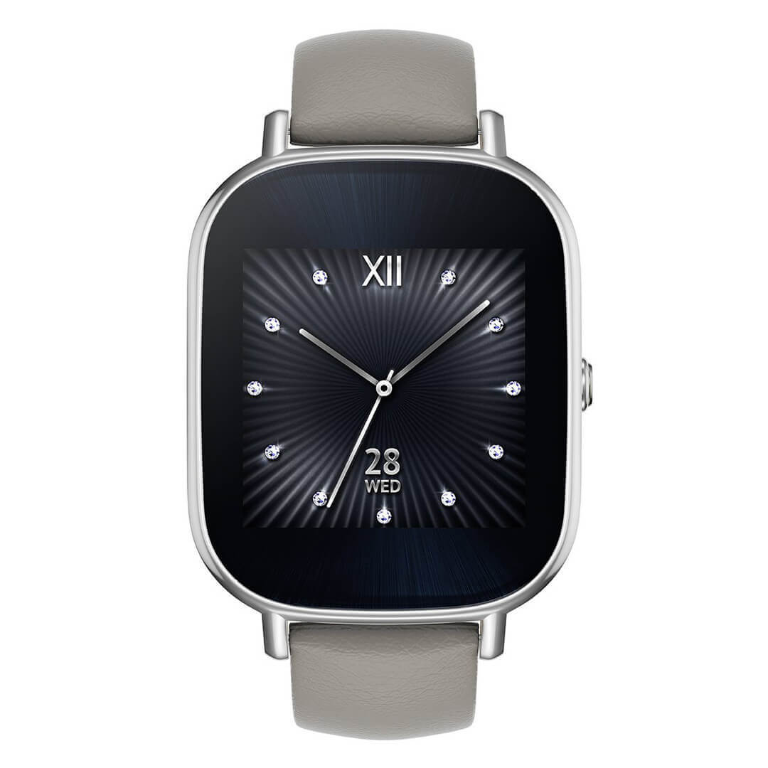 Asus Zenwatch 2 1 45 Silber Amazon