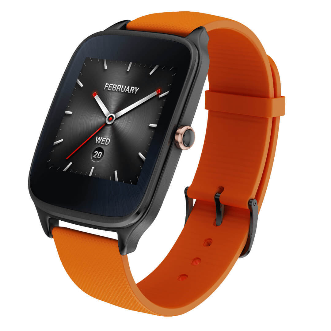 Asus Zenwatch 2 1 63 Gunmetal Orange Presse