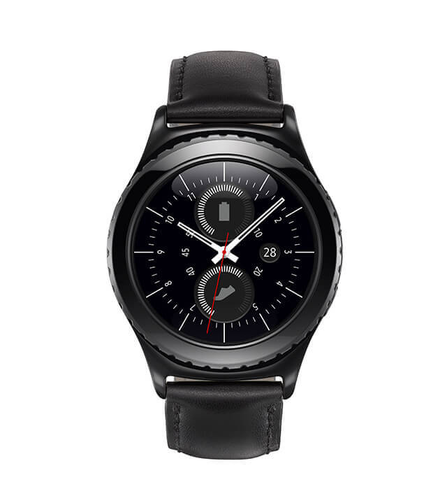 Samsung Gear S2 Classic Front Press