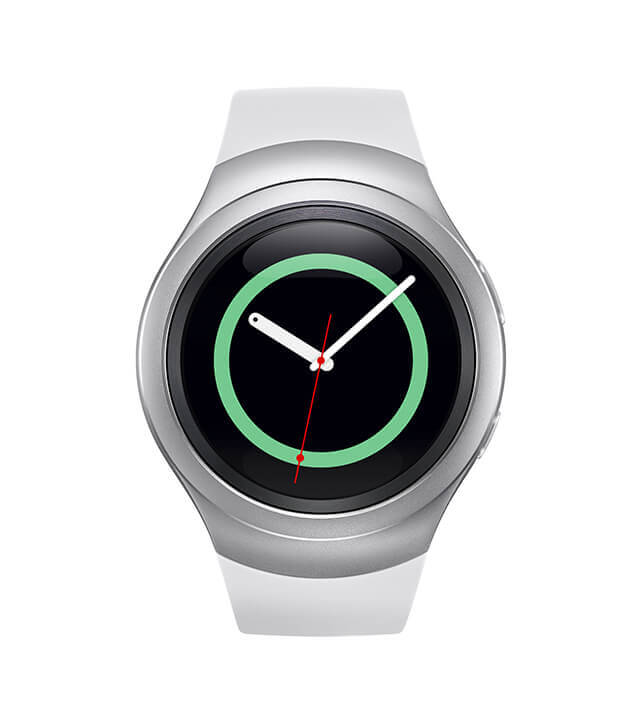 Samsung Gear S2 Front Press