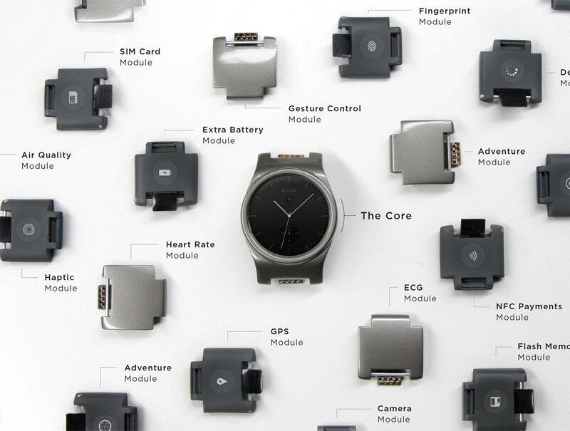 Blocks Smartwatch Module Übersicht