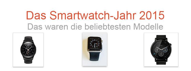 Beliebtesten Smartwatches 2015