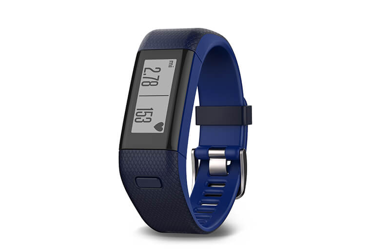 Garmin vivosmart HR+ in Blau