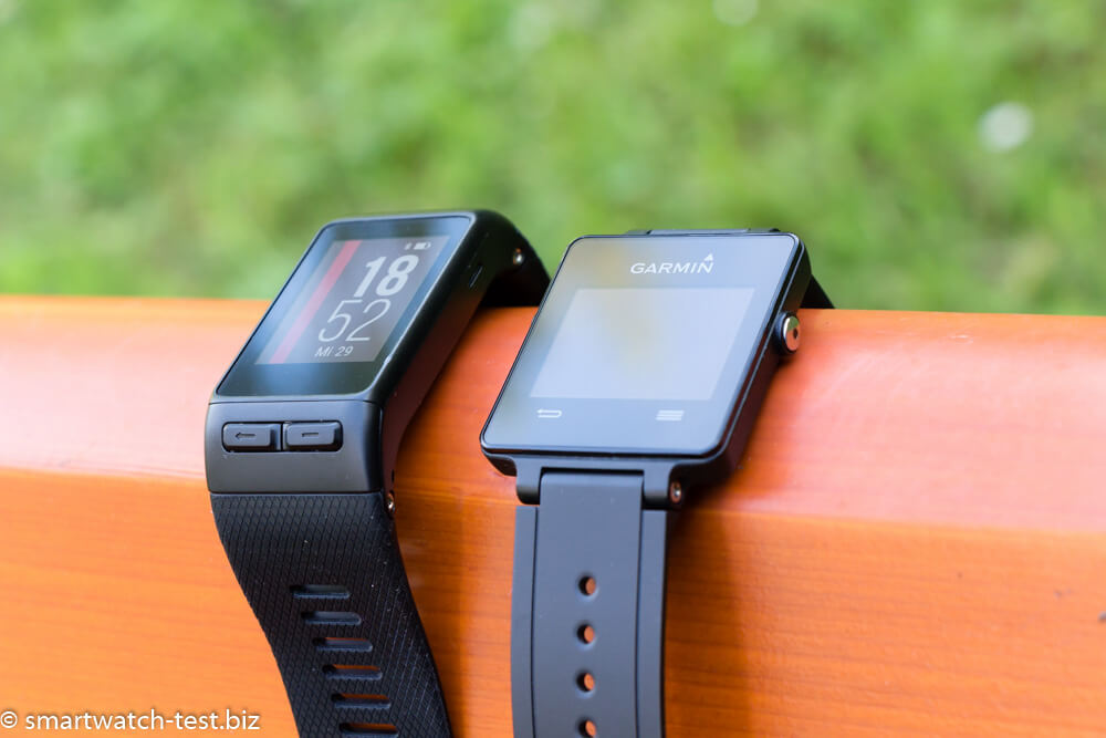 Garmin vivoactive HR vs Garmin vivoactive im Test