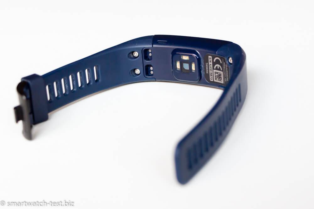 Garmin vivosmart HR in Blau / Rückseite