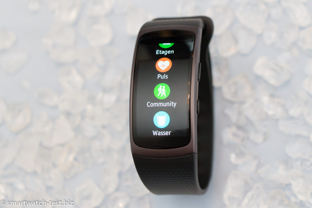 Funktionen der Samsung Gear Fit 2