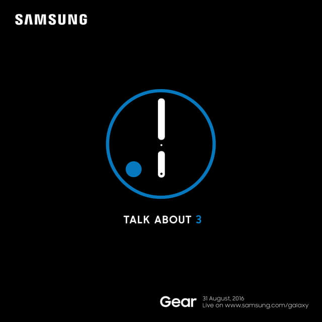 Samsung Gear S3 Lauch-Event