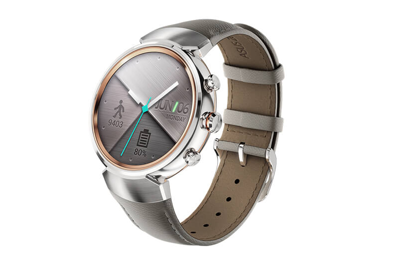 Asus Zenwatch 3 in Silber