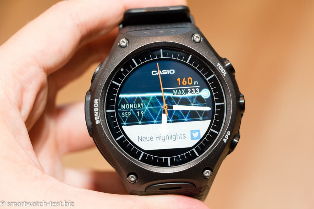 Casio Smartwatch im Test