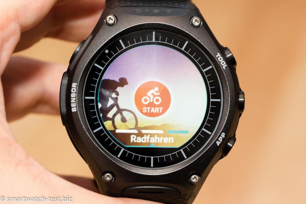Vorgänger der Casio WSD-F20 Smartwatch im Test