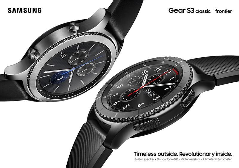 Samsung Gear S3 Classic und Gear S3 Frontier im Vergleich