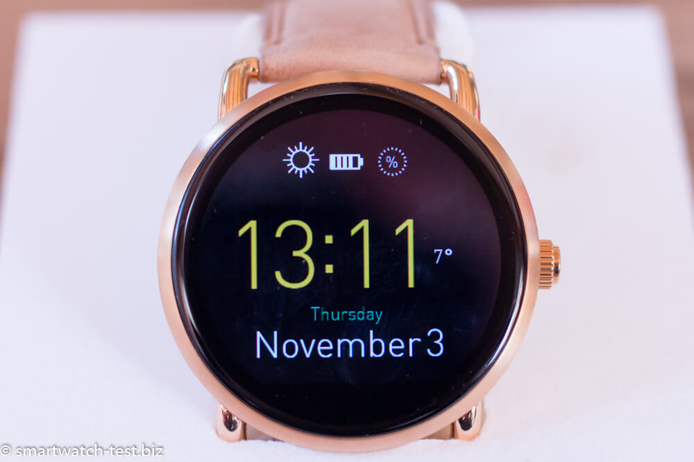 fossil q wander q marshal runde style smartwatches im test. Black Bedroom Furniture Sets. Home Design Ideas