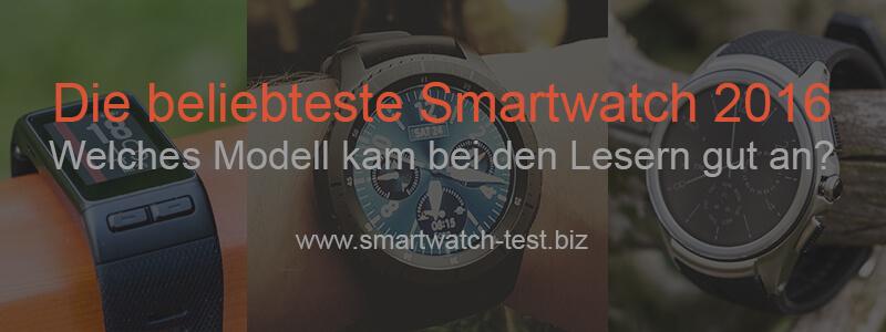 Beliebteste Smartwatch 2016