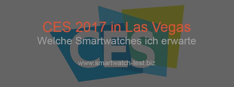 Neue Smartwatches auf der CES in Las Vegas