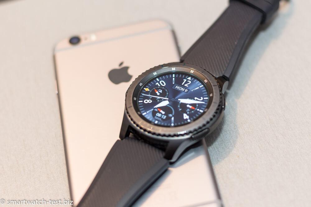 Samsung Gear S3 ist mit dem Apple iPhone kompatibel