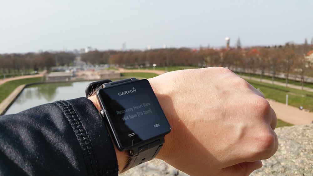 Lauftraining mit Smartwatch