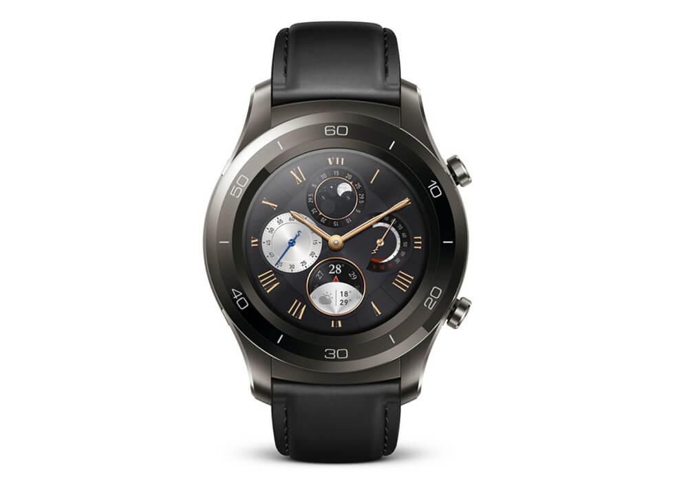 Smartwatch mit Keramik-Einfassung