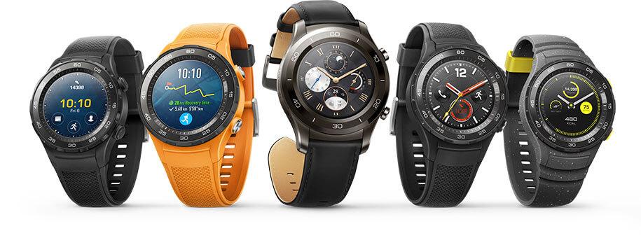 Huawei Watch 2 Modelle in der Übersicht