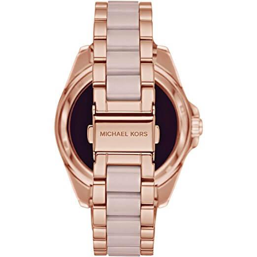 Armband mit Azetatdetails in Rosé-Gold