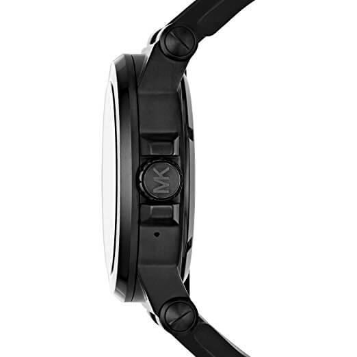 Seitenansicht der Michael Kors Smartwatch