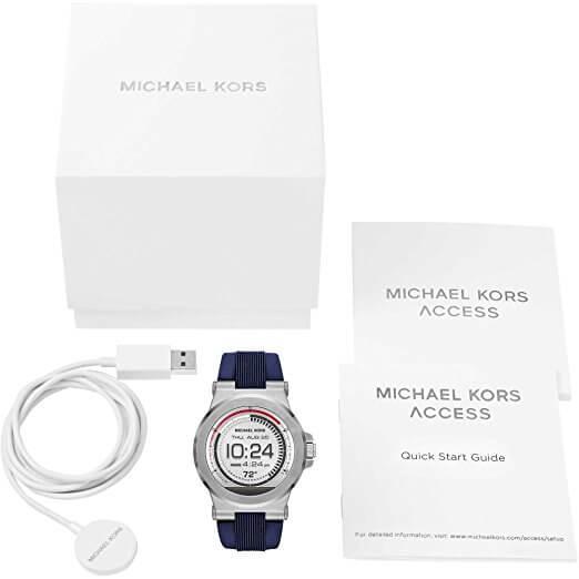 Lieferumfang der Michael Kors Smartwatch