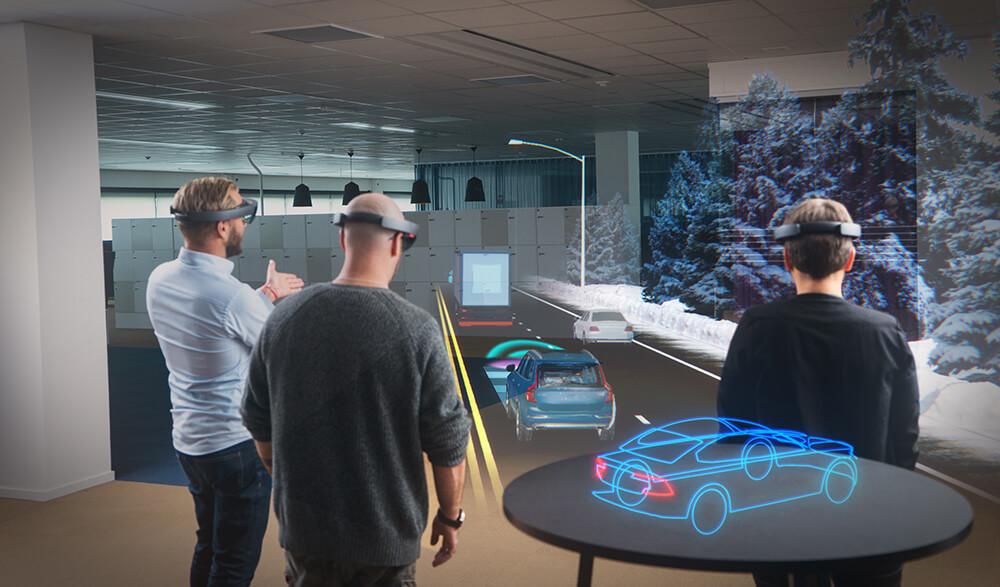 Microsoft Hololens im Einsatz bei Volvo