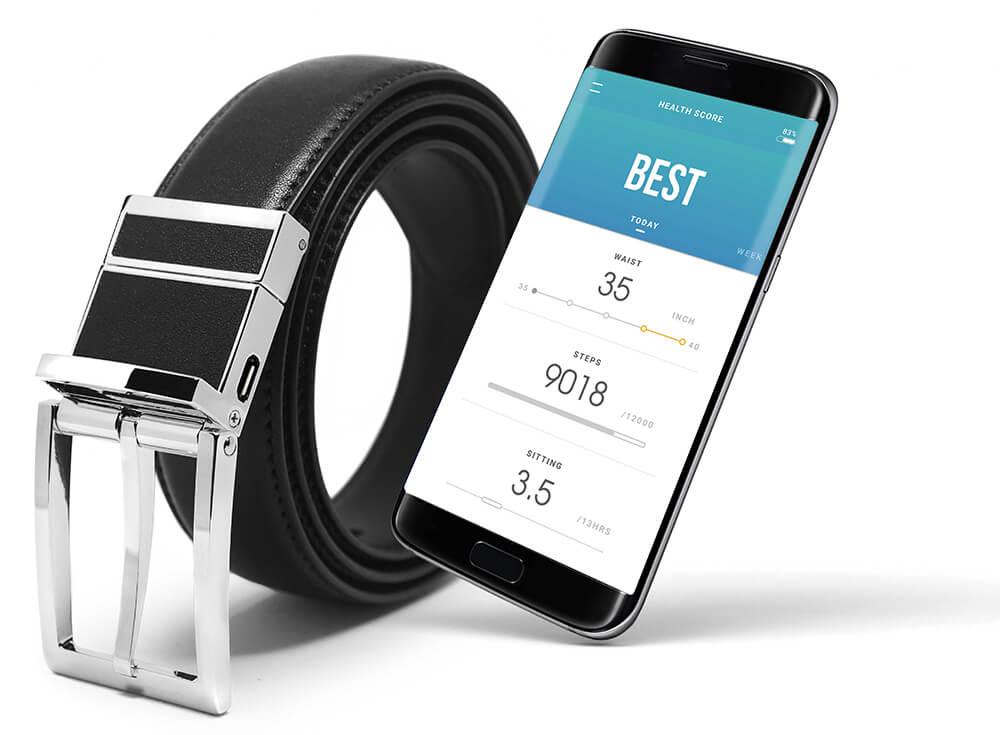 Samsung Welt Gürtel mit Smartphone App