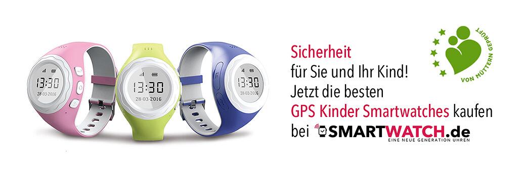 GPS Uhren für Kinder bei Smartwatch.de kaufen