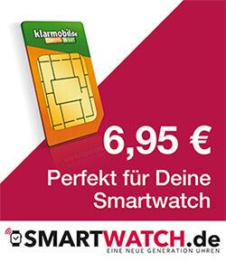 SIM Karte für eine Smartwatch