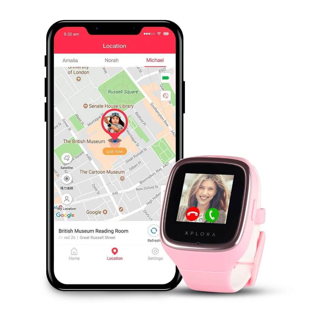XPLORA 3S Kinder Smartwatch